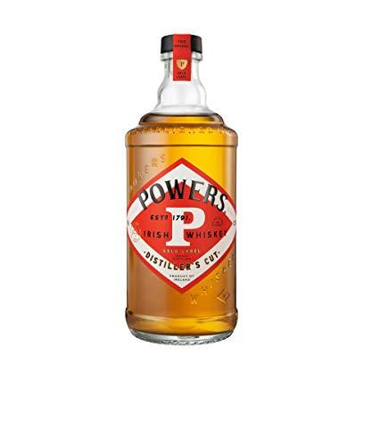 John Powers Gold Label Irish Whiskey – Außergewöhnlicher blended Irish Whisky aus Single Pot Still & Grain Whiskeys – 1 x 0,7 L