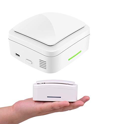 Aibecy generatore di ozono, purificatore aria Ozonizzatore di sterilizzazione Mini portatile per Home Office Car Shoe Cabinet Armadio Bagno Cucina Deodorizzazione Disinfezione Formaldeid