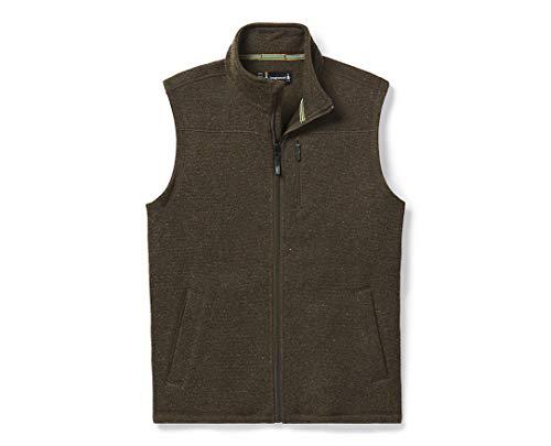 Smartwool Hudson Trail Fleece Vest Military Olive MD