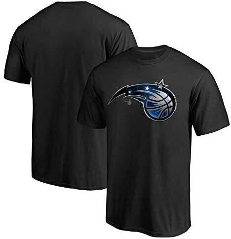 Li Longue T-Shirt en Jersey de Basket-Ball Masculin de la NBA Orlando Magic Gymnase Veste Sport T-Shirt à séchage Rapide en Cours d'exécution lâche Nouveau Tissu Jersey Broderie Swingman