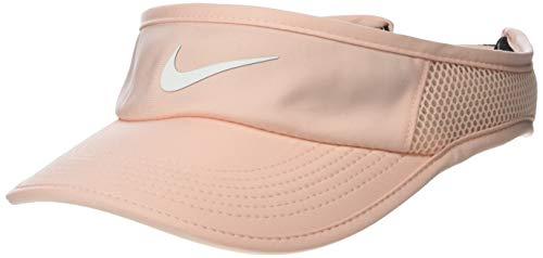 Nike Damen Nikecourt Aerobill Visier, Damen, Mütze, Women's Nikecourt Aerobill Visor, Gewaschene Koralle, Einheitsgröße