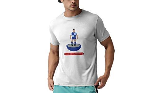 Wycombe Wanderers FC Novelty Football T Shirt, (XX Large)
