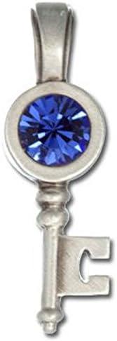 BICO AUSTRALIA JEWELRY (MS9) Clover Key Pendant - The Key to Success, Good Luck