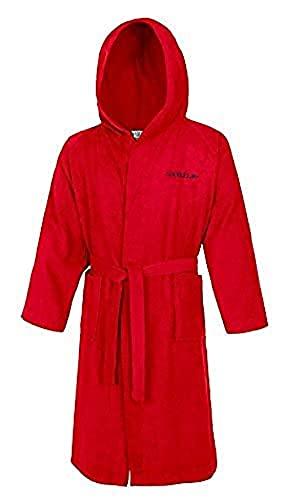 Speedo Microterry Albornoz, Unisex Adulto, Rojo (Red), XS