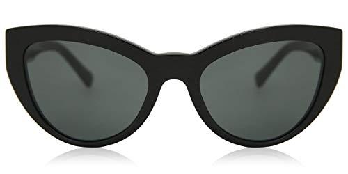 Versace 0VE4381B Gafas, BLACK/GREY, 53/19/140 Eyewear
