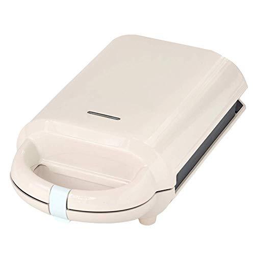 GCE Waffeleisen 3-Minuten-Frühstücksmaschine Antihaftbeschichtung und automatische Temperaturregelung kompaktes Design leicht zu reinigen weiß