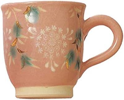 日本陶彩 マグカップ ピンク 300ml S38114400