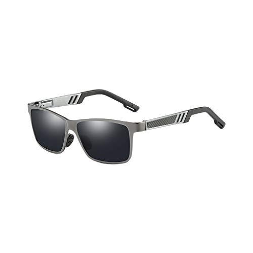 NA. Nangjiang - Gafas de sol polarizadas para hombre, diseño vintage