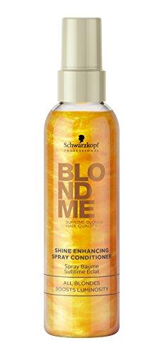 Schwarzkopf Blondme Shine Enhancing Spray Conditioner 1 x 150 ml Farb-Pflege-Services