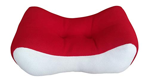 Try Performance Lumbar Back Support Cushion Pillow For Lower Back Pain | Ache. Ergonomic Office Chair Back Support Cushion. Also Great Lower Back Support For Sofa and Chair Back Rest. (Red)