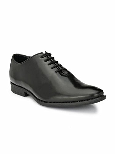 Black/Brown Strong Pure Leather Shoes