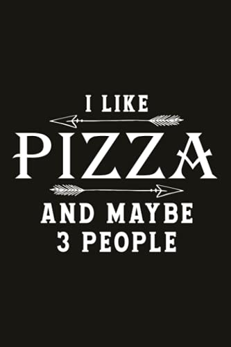 Running Log Book Pizza Lovers Gift Ideas Funny I Like Pizza More Than People: Time, Calories & Heart Rate (Gift For Athlete & Coach), Running Logs, ... Track Distance, Runners Training Log, Weather