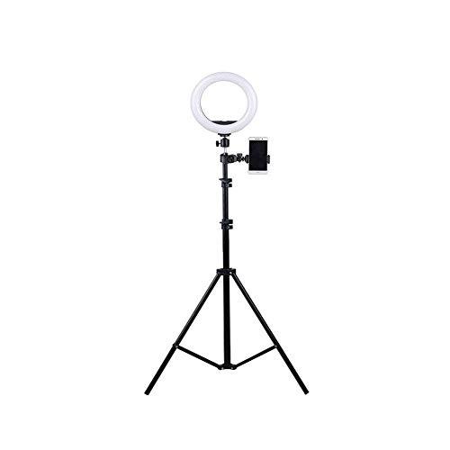Live-houder ring vullicht fotocamera statief video-opname zelfontspanner telefoonhouder multifunctionele statiefclip inklapbare vloervideoapparaten voor buiten