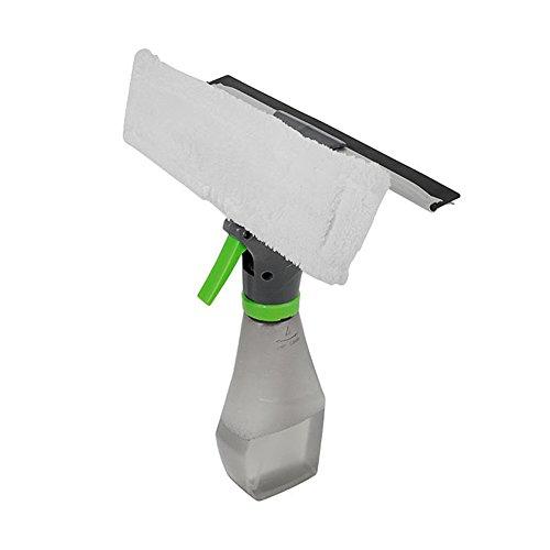 Preisvergleich Produktbild Tragbar Reinigungsbürste,  gezichta 3 in 1 Magic Scheibenwischer Rakel Mikrofaser Fenster Reiniger und Schaber Mehrzweck-Hand Fenster Reiniger Spray Werkzeug Innen und Außenbereich Fenster Verwenden