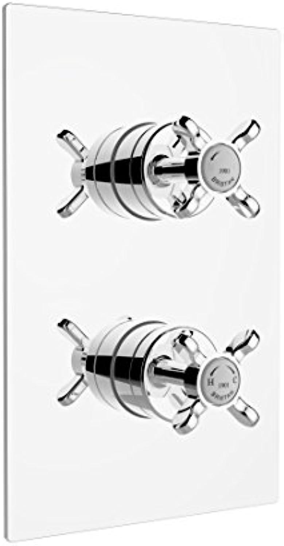 Bristan N2shcvo C 1901Einbauleuchte Thermostat Dual Control Dusche Ventil, Chrom