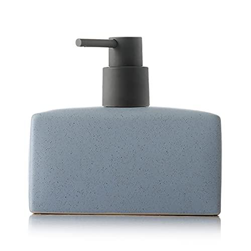 Flacone per Lozione, Flacone per Shampoo E Gel Doccia, Dispenser per Sapone Igienizzante per Le Mani di Grande capacità,Blu