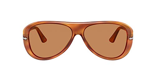 Persol Gafas de Sol PO 3260S Terra Di Siena/Brown 59/14/140 unisex