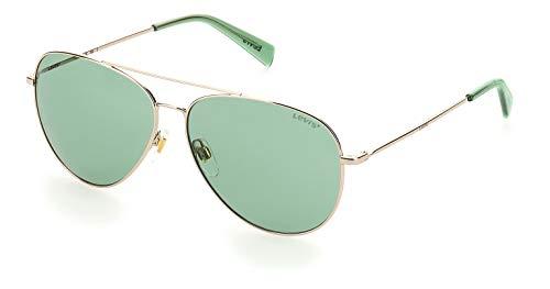Levi's Unisex lv 1006/s Sonnenbrille, Gold Green, 58