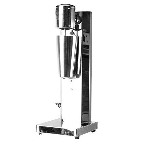 Batido Máquina Eléctrica Milk Shake Mezclador Con Acero Inoxidable 2 Velocidades Comerciales Bebidas Mezclador Frappe Shaker Griego Hielo Café Espuma Licuadora Licuadora Cóctel 220V,Single