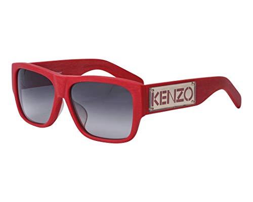 Kenzo Sonnenbrillen (KZ-3167-A C04) abgebürstet rot - grau verlaufend