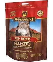 Wolfsblut Lot de 4 biscuits pour chien Cracker Red Rock sans céréales avec 50 % de viande de kangourou 225 g