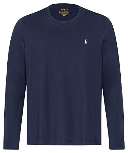 Polo Ralph Lauren Longsleeve Crew Neck Shirt Langarm Shirt Sleep Top XXL Navy (002)