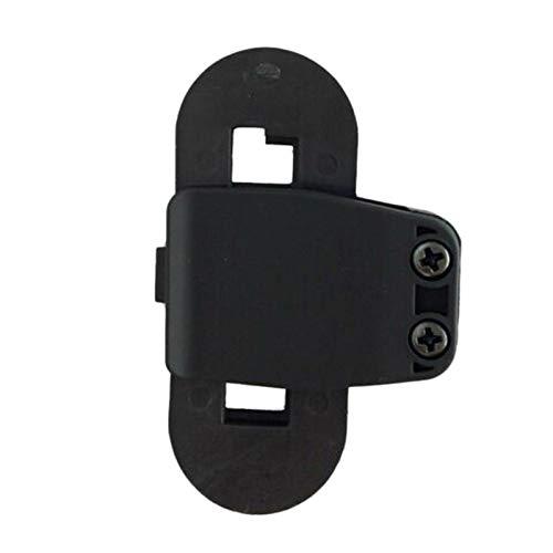 Fltaheroo Clip para Auriculares con Casco de 2 Piezas Clip de Intercomunicador para Casco de Moto Accesorios de Soporte