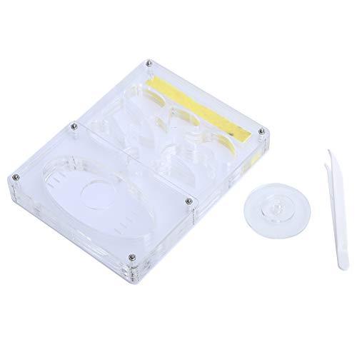 Petyoung Caja de Hormigas Acrílico Transparente 3D Vivero Hormiga Granja Formicarium Nido de Insectos Alimentación de Hormigas Caja