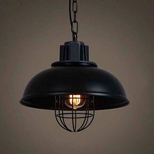 IGOSAIT Lámpara de techo, Retro Colgante Lámpara Colgante Lámpara de Techo Industrial Metal E27 Cap Ajustable para Loft Barn Cocina Luz de Techo