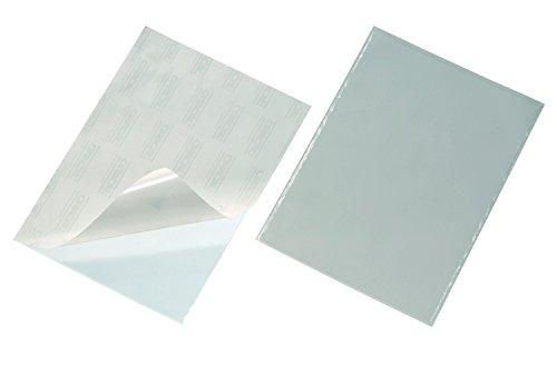 Durable 829519 - Funda adhesiva (A4, 10 unidades), transparente