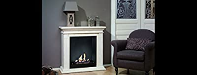 British Fire Fireplaces Cadiz Suite bioethanol Fireplace BCAD5820BFL
