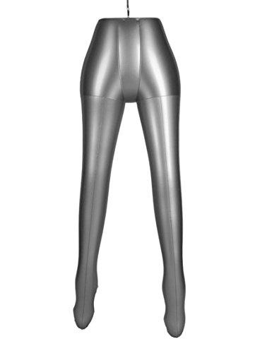 Inflatable Female Half Body Legs Mannequin Pants Dress Form Dummy Model Display