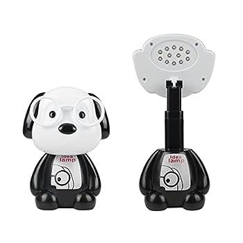Snoopy LED Night Light Glasses Dog Desk Lamp RechargeableTableLamp