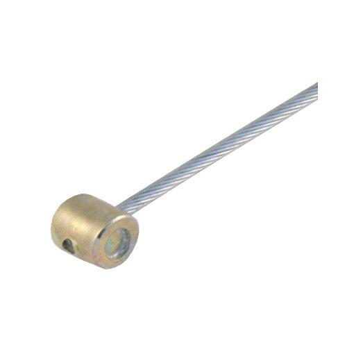Seilzug Gas / Gaszug mit Tonnennippel zum Einhängen an Gasrolle Lenker - 1,2x2000mm - alle Vespa Modelle