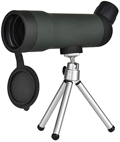 Telescopio monocular Impermeable 20 X 50 de visión Nocturna, Lente óptica, Prisma, Alcance con trípode retráctil para Acampar,