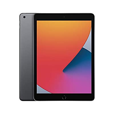 New Apple iPad (10.2-inch, Wi-Fi, 128GB) - Space Grey (Latest Model, 8th Generation)