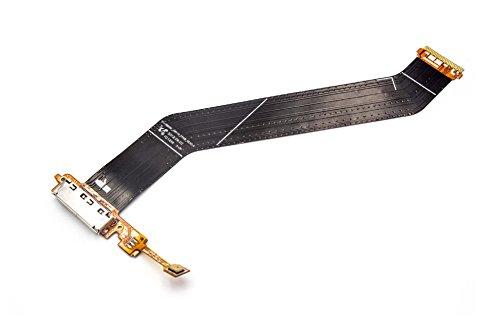 vhbw Flexibles Ladebuchsen-Kabel passend für Samsung Galaxy Note 10.1 GT-N8010, GT-N8020