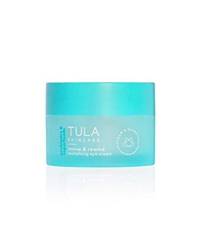 TULA Skin Care Revive & Rewind Revitalizing Eye Cream, 0.5 oz. - Smooth Fine Lines, Dark Circles & Puffiness