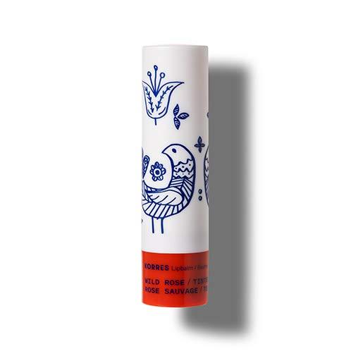 Korres Wild Rose Lip Balm - Getönt Red, 4 g