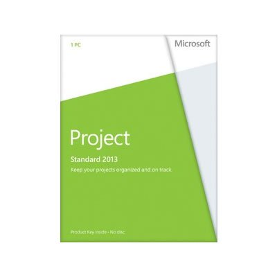 Microsoft Project 2013 Standard deutsch 1PC (ohne Datenträger)