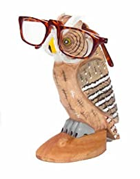 funny owl eyeglasses holder