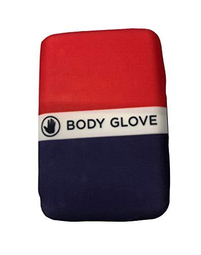 Herren-Handschuh, RFID-blockierend, wasserabweisend, Neopren, Surfen/Strand, Hartschale/weiche Hülle -  Rot -  Small