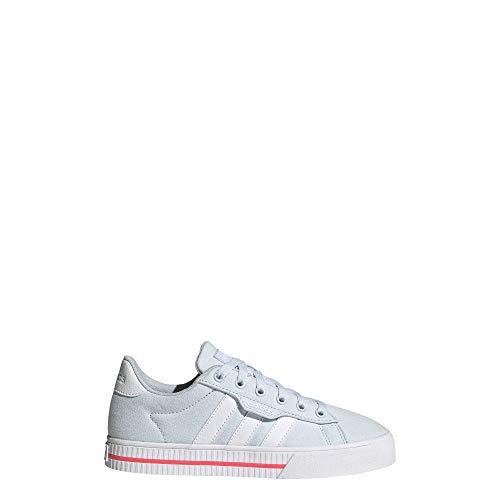 adidas Kids' Daily 3.0 Skate Shoe, Sky Tint/White, 13K