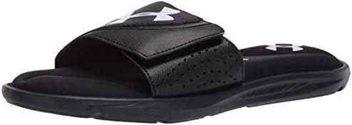 Under Armour Men s Ignite VI SL Slide Sandal Black 003 Black 10 M US product image