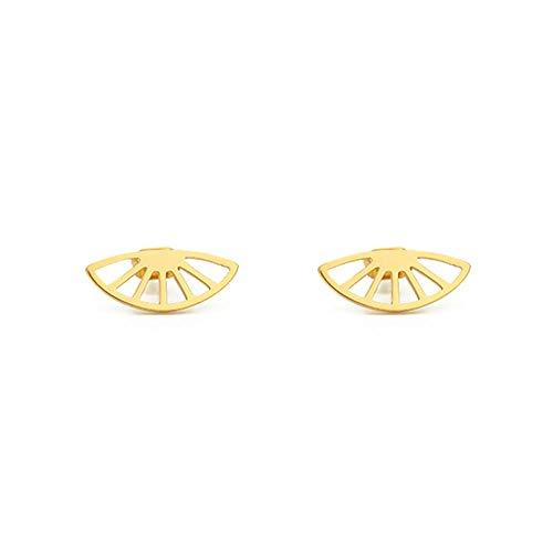 Mini Pendientes Joyería Vintage Acero inoxidable Oro rosa Pendientes pequeños Regalos pesadilla antes de Navidad-Rose_Gold_Color_China