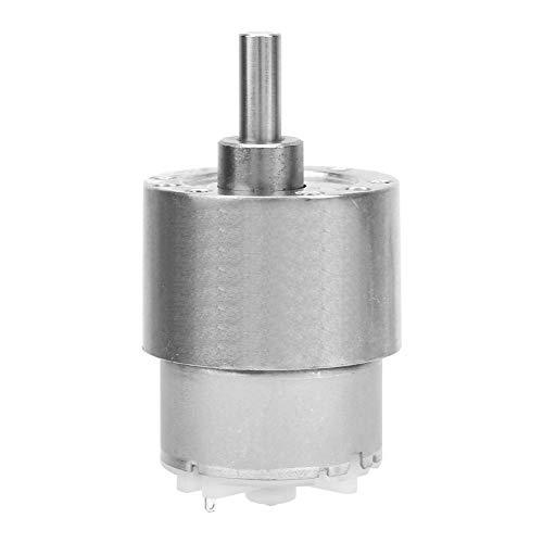 Vikye DC 12V Getriebemotor, Geschwindigkeitsreduzierung Motor Spielzeugautomaten Fensteröffner DC Getriebemotor Automatisierungsgeräte(12V 10RPM)