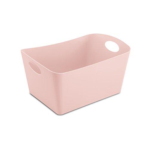 koziol Aufbewahrungsbox Boxxx M, Kunststoff, powder pink, 20.3 x 29.7 x 15 cm