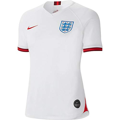 Nike 2019-2020 England Home Womens Football Soccer T-Shirt Jersey