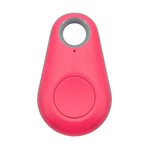 Without Pet Smart GPS Rastreador Mini Anti-perdido Localizador de Bluetooth Anti-perdido Tracer de Bluetooth para Pet Dog Cat Kids Car Wallet Colllar Accesorios (Color : Rose, Size : Small)
