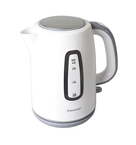 HOME Essentials - Wasserkocher WAK-9257 [1,7 l Fasungsvermögen, 360° Sockel, Wasserstandsanzeige, max. 2000 Watt]